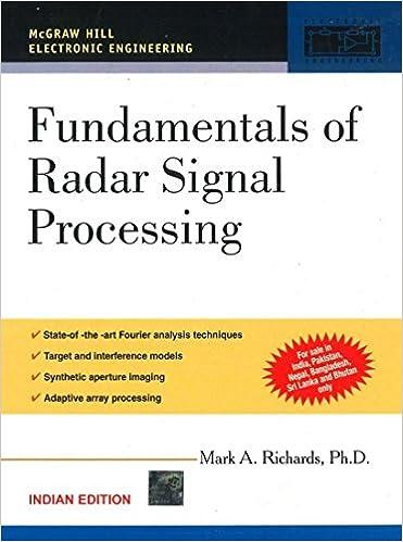 Fundamentals of Radar Signal Processing: RICHARDS