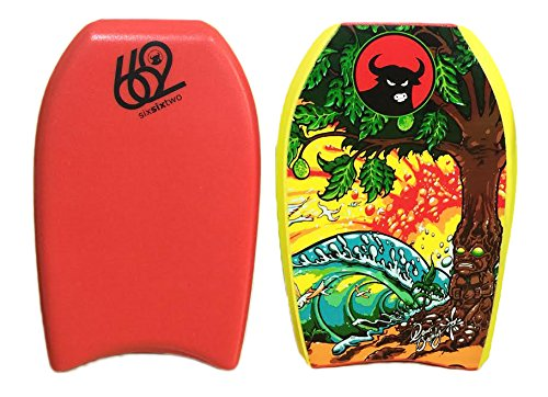 662 All in One Mini Kick Bodyboard, Red, 21-Inch ()