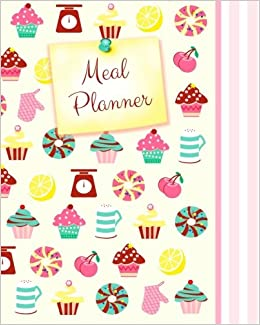 buy meal planner weekly menu planner with grocery list 52