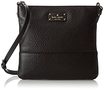 kate spade new york Grove Court Cora Cross-Body Bag,Black,One Size