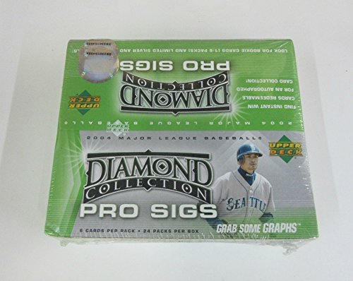 2004 Upper Deck Pro Sigs Diamond Collection Baseball Box (Retail) (Diamond Collection Baseball Box)