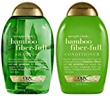 OGX Strength + Body Bamboo Fiber Full Shampoo and Conditioner Set