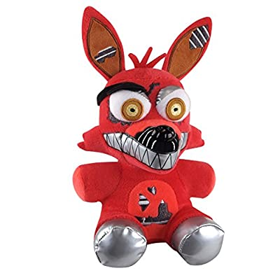 "Funko Five Nights at Freddy's Nightmare Foxy Plush, 6"": Toys & Games"