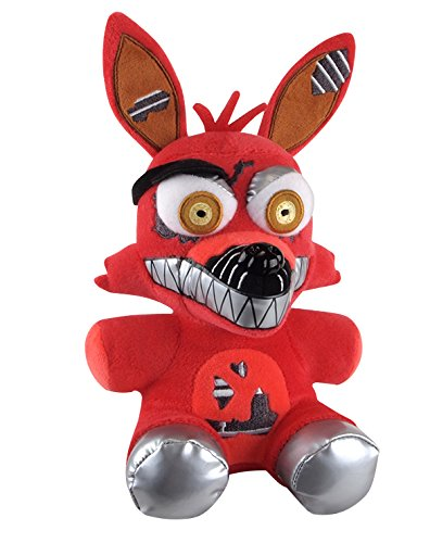 Funko Five Nights at Freddys Nightmare Foxy Plush, 6