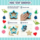 Sandwich Cutters for Kids - 8 Fun Shapes Plus