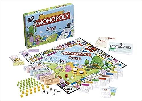 Adventure Time Monopoly Board Game: Amazon.es: Libros en idiomas extranjeros