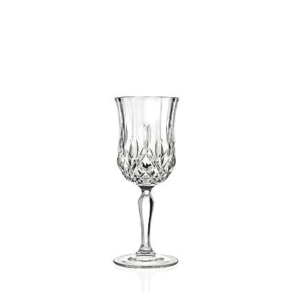 At Arredi Trasparenti.Buy Rcr 25606020006 Confezione 6 Calici In Vetro Opera Vino