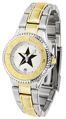 Vanderbilt Commodores Competitor Two-Tone Women's Watch