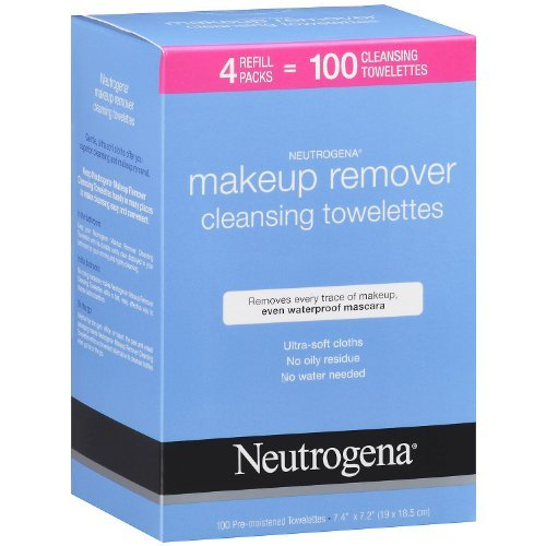 Neutrogena Make Up Removing Wipes 100 Cleansing Towelettes