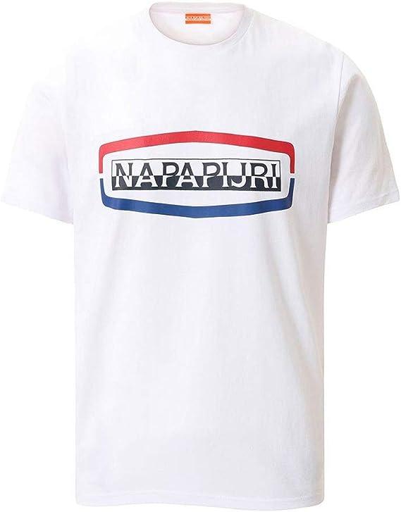 Napapijri Camiseta Soggy SS Marino para Hombre: Amazon.es: Ropa y accesorios