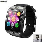 Smart Watch with Camera, Aosmart Q18 Bluetooth Smartwatch with Sim Card Slot Fitness