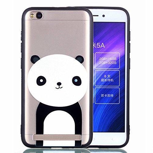 Klassikaline® Coque Xiaomi Redmi 5A Etui Housse de Protection - Panda