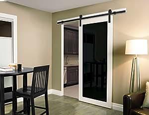 Amazon.com: Casa Design U0026 Decor 78102M Rustic Barn Door Hardware Kit: Home  Improvement
