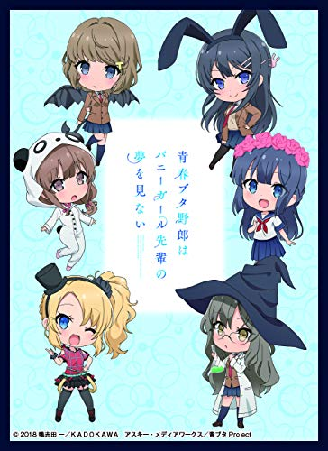 AoButa Rascal Dream Bunny Girl Senpai Full Cast Card Game Character Sleeves Collection Vol.11 Anime Girls -