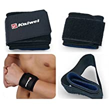 COOLOMG Sport Gym Workout Weight Lifting Tennis Basketball Hand Wristband Wrap Support Brace