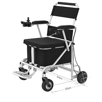 Silla de ruedas eléctrica liviana, silla de ruedas para ...
