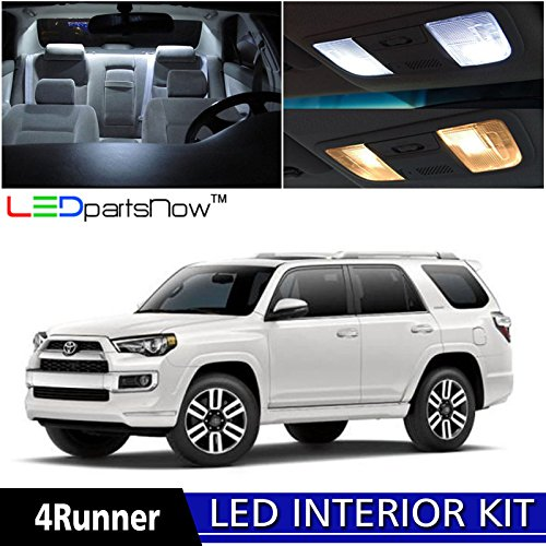 Car Led Interior Lights For 2019 Toyota Sequoia Sienna: Compare Price To Toyota 4 Runner Interior Parts