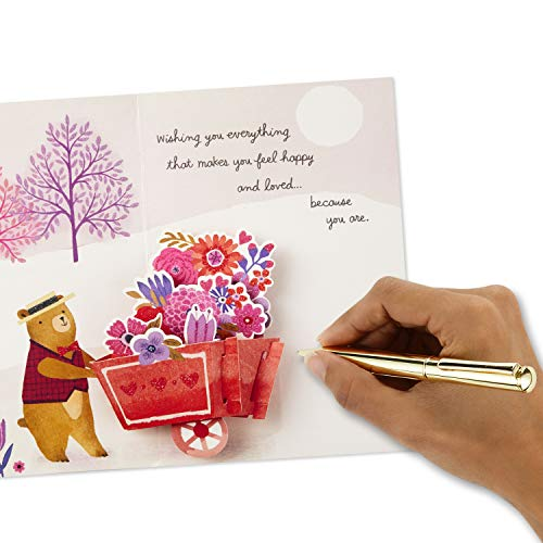Hallmark Paper Wonder Pop Up Valentines Day Card for Anyone (Beary Loved Valentine) Photo #7