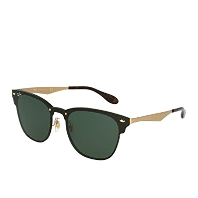 18e8b9a0ef Ray-Ban Blaze Clubmaster RB3576N 043/71 41 Brushed Gold: Amazon.fr ...