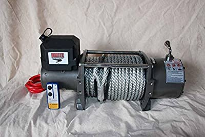 NEW VORTEX 17000 LB Pound Industrial/Recovery Winch/HEAVY DUTY (FAST SHIPPING - 1 TO 4 BUSINESS DAY DELIVERY)