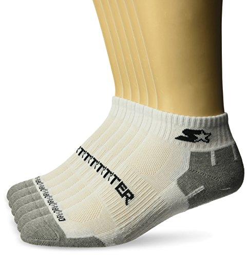 Starter Men's 6-Pack Quarter-Length Athletic Socks, Amazon