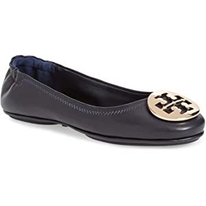 2266535ce4749 Tory Burch Minnie Travel Ballet Flat Shoes - Perfect Navy