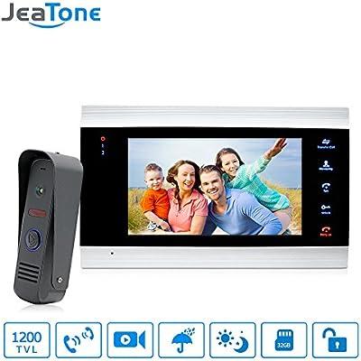Amazon 7 Video Doorphone Intercom Systems On Door Speakerphone