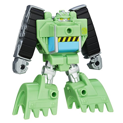 Playskool Heroes Transformers Rescue Bots Rescan Boulder Construction Bot Action Figure ()