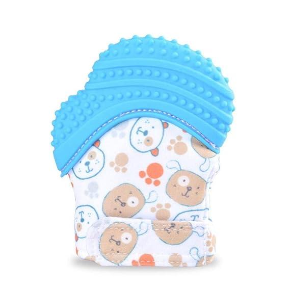Jannyshop 2 Pack Guante de Dentición para Bebé Protege las ...