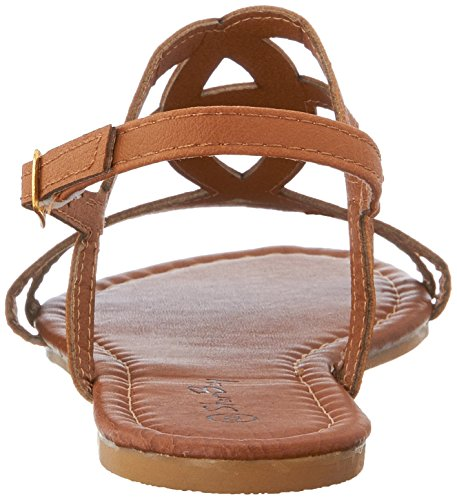 Bay Shoes Flats Star Thongs Gladiator Womens Brown Sandals Roman 2226 Strappy 4xxZdR8