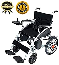 Culver 2019 Electric Power Motorized Wheelchair Portable Folding Lightweight FDA Registered Device Long Range Battery (Free Wheelchair RAMP Gift)