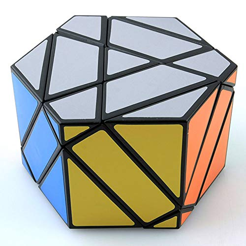 Shield Cube Model Magic Cube Puzzle IQ Brain Teaser Toy Speed Magic Cube Puzzle Toy Educational Toy -