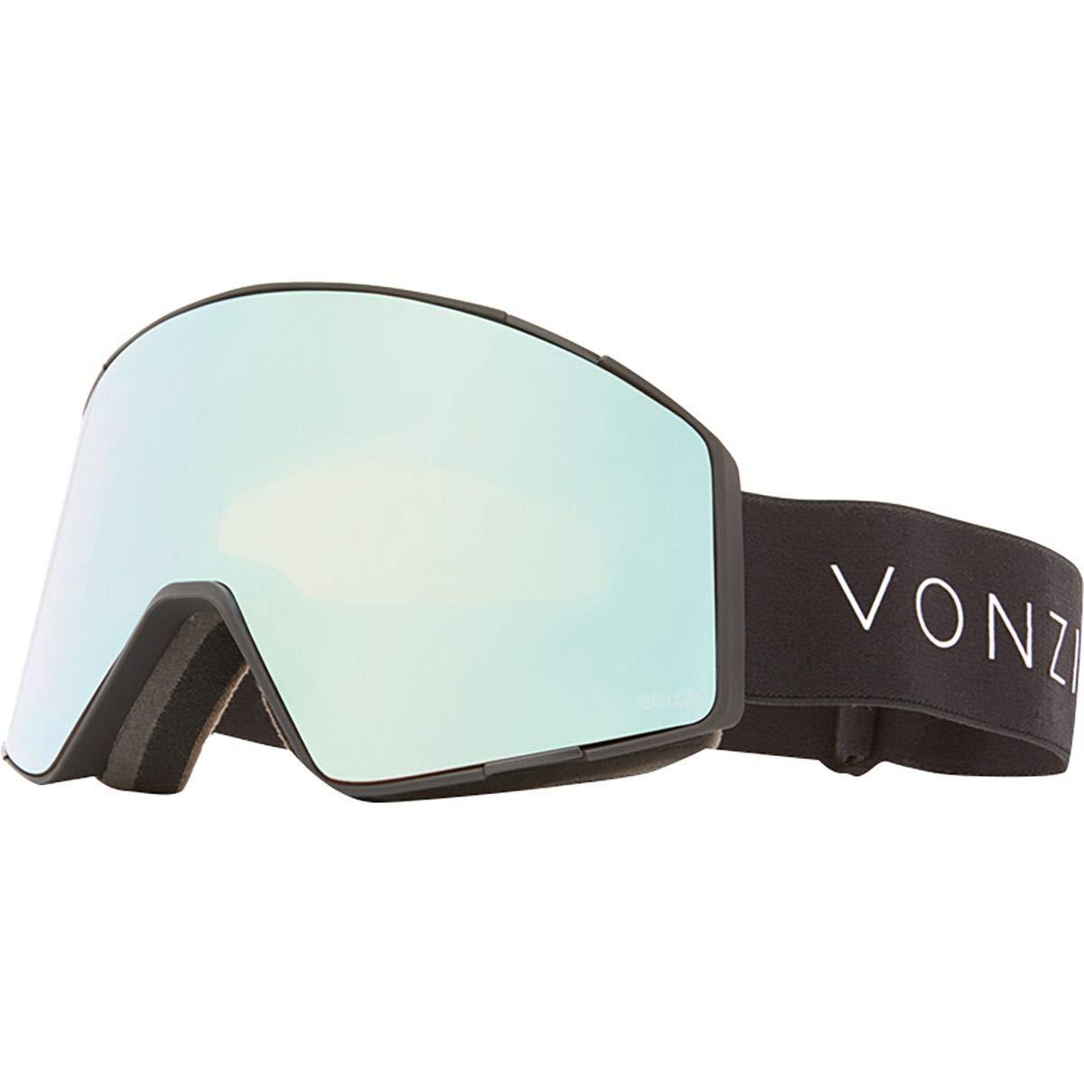 Vonzipper Capsule Adult Snowmobile Goggles Black Satin//Wild Stellar Chrome//One Size GMSNQCAP-DBL