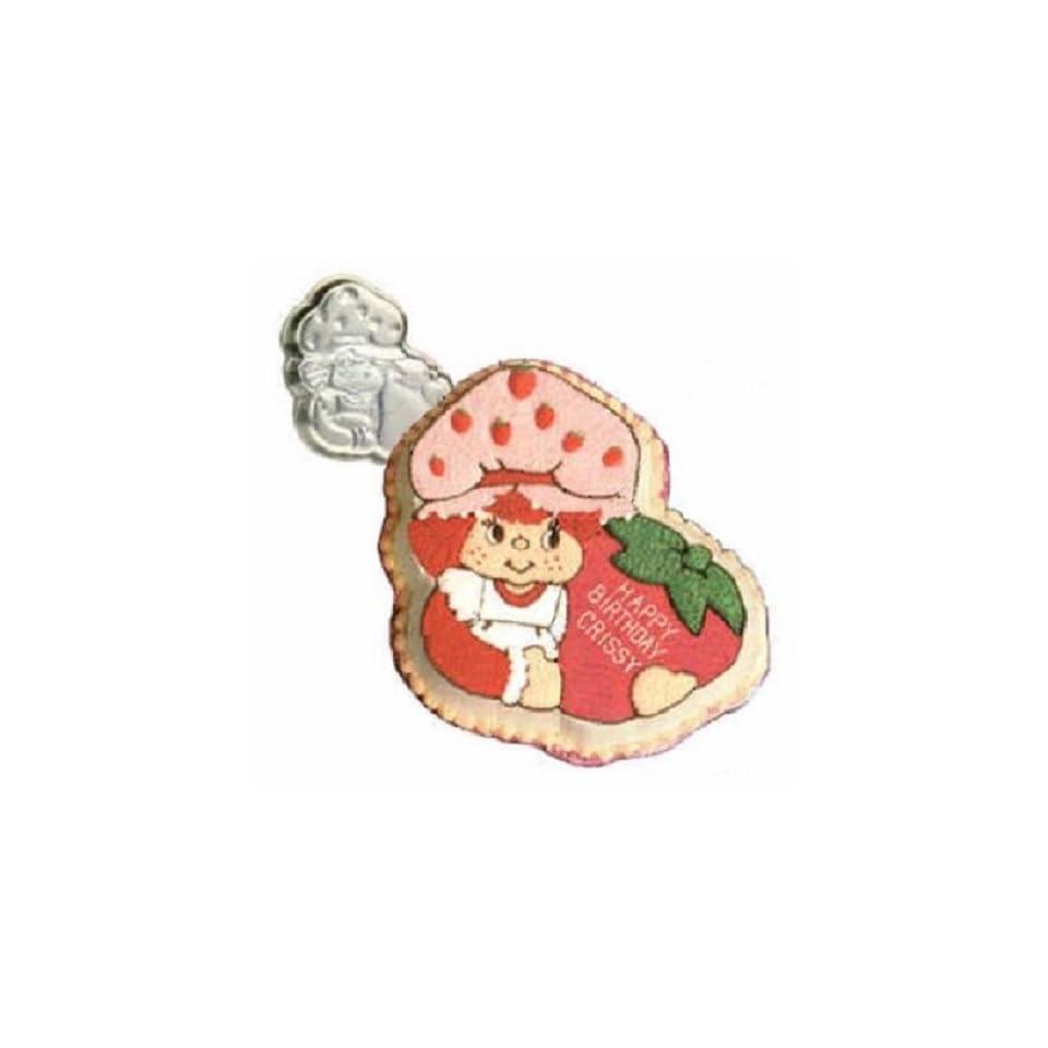 Vintage 1981 Wilton Strawberry Shortcake Birthday Cake Pan #502 3835