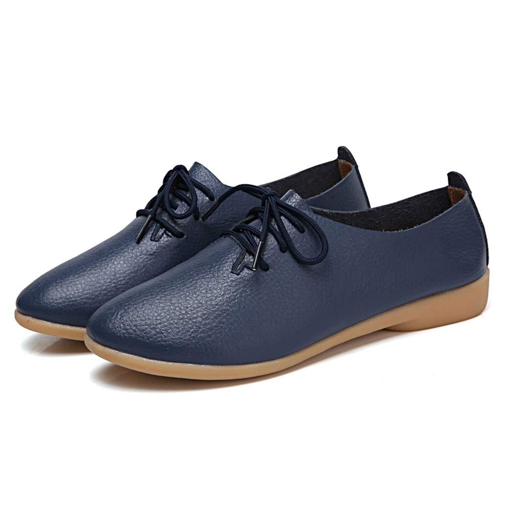 York Zhu Women Fashion Sneakers Flat Soft Moccasins Pointed Toe Ballet Flat Slip on Shoes