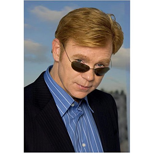 CSI: Miami 8inch x 10inch Photo David Caruso Looking Over Top of Sunglasses kn