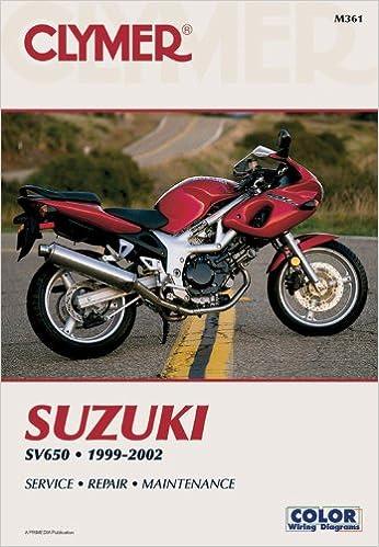 Suzuki SV650 1999-2002 (CLYMER MOTORCYCLE REPAIR): Penton Staff