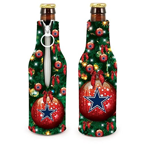 Kolder Dallas Cowboys Cooler - NFL Football 2015 Christmas Ugly Party Bottle Suit Holder Cooler 2-Pack (Dallas Cowboys)