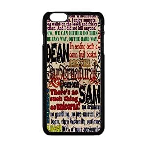 "Danny Store Hardshell Cell Phone Cover Case for New iPhone 6 Plus (5.5""), SPN Supernatural Quotes"