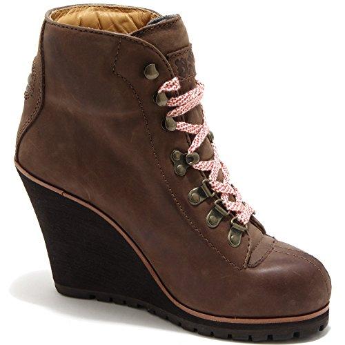 Zeppa Ash Shoes Vintage Women Zenith Donna Marrone 70026 Trochetto Scarpa wtxCq01x5