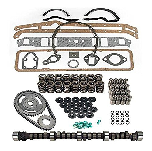Ultimate Cam Kit compatible with Ford 260 289 302 High Performance Choppy idle springs retainers locks (.512 Lift)