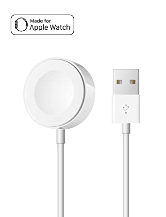 OPSO Cargador para Apple Watch [Apple MFi Certificado],Magnetic Cable de carga para Apple Watch/iWatch 1/2/3/4 38mm 40mm 42mm 44mm-6.6 Feet (2 metro)