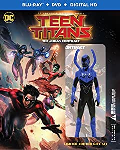 Teen Titans: The Judas Contract Deluxe Edition [Blu-ray]