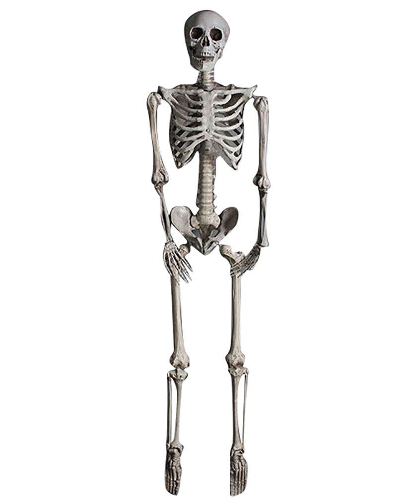 YOUJIA Skelett Mensch Halloween Dekoration Horror Deko Garten ...