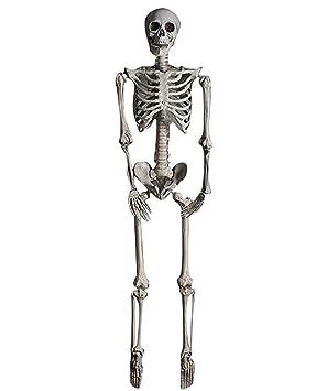 youjia modele squelette plastique anatomique deco decoration halloween party horreur effrayant dcoration 160cm - Squelette Halloween