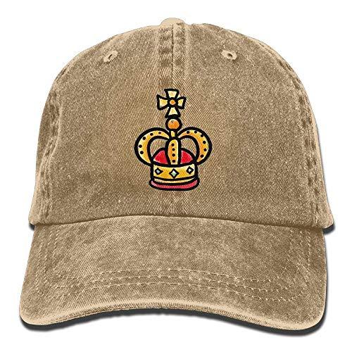Hat King Crown Denim Skull Cap Cowboy Cowgirl Sport Hats for Men Women