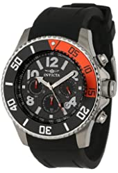 "Invicta Men's 13727 ""Pro Diver"" Stainless Steel Watch with Black Band"
