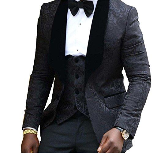 3 Piece Black Tuxedo - 7
