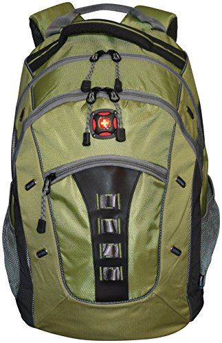 SwissGear%C2%AE Granite Double Backpack Black Green
