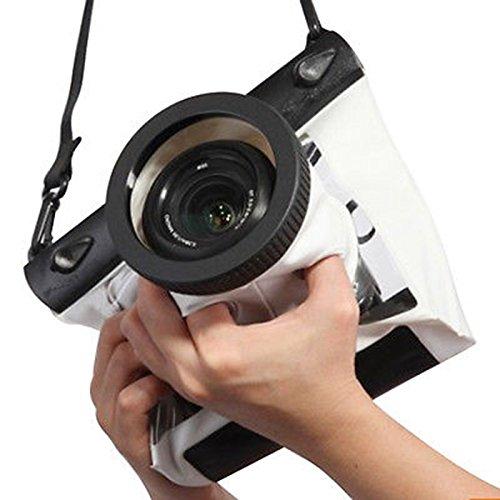 SMO Underwater Waterproof Case Bag for Canon Nikon 20M DSLR